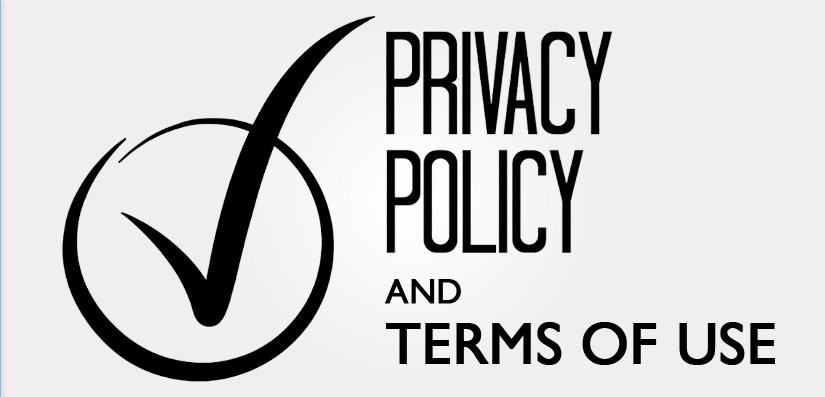 privacy policy and terms of use